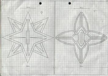 Zanpakuto Tsuba Designs: Pt 28 by chioky