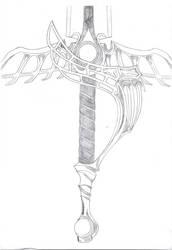 FF 7 - CC: Genesis Rapier by chioky