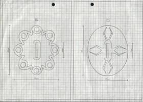 Zanpakuto Tsuba Designs: pt 32 by chioky