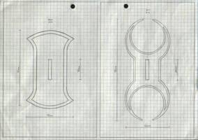 Zanpakuto Tsuba Designs: pt 33 by chioky