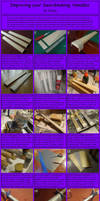 Speed Swordmaking: Tsuka by chioky