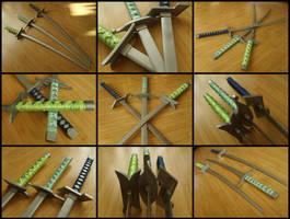 The Bleach Espada Zanpakutos by chioky
