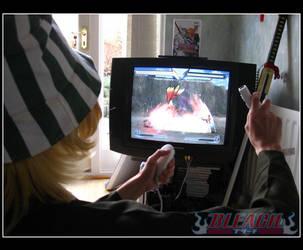 Bleach: Urahara vs Yoruichi by chioky