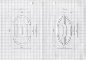 Zanpakuto Tsuba Designs: pt 35 by chioky