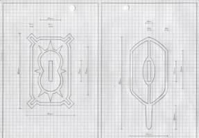 Zanpakuto Tsuba Designs: pt 36 by chioky