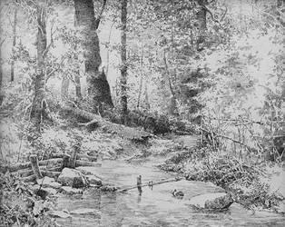 Woods by LotharZhou