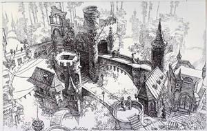 Heidelberg Fantasy by LotharZhou