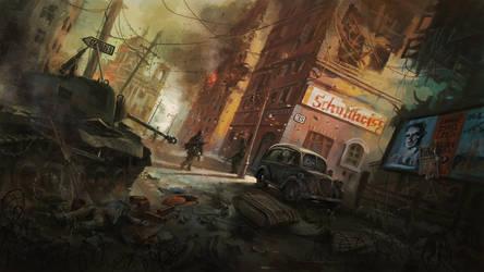 Berlin Downfall1945 by LotharZhou