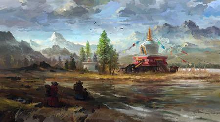 Temple of Heaven by LotharZhou