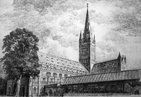 Norwich Cathedral by LotharZhou