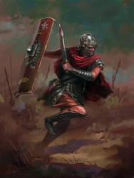 Rome Warrior by LotharZhou
