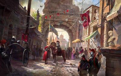 Rome Fantasy by LotharZhou