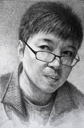 Self Portrait by LotharZhou