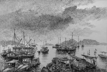 CheungChau Island by LotharZhou