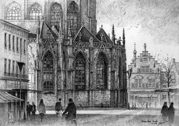 Breda Kerk by LotharZhou