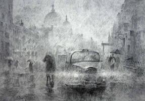 St. Paul Rainy Day by LotharZhou