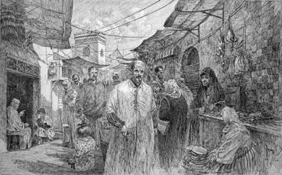 Tetouan Market by LotharZhou