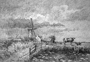 Dutch Landscape by LotharZhou