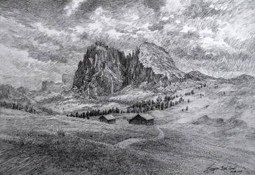 Dolomites FinalS by LotharZhou