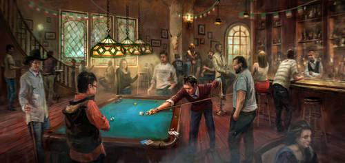 Irish Pub by LotharZhou