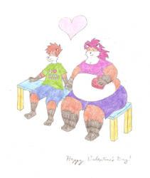 My Fatty Foxy Valentine by j-rad306