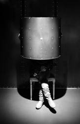 Woman on a chair, 2011 by AlbertoCuccodoro
