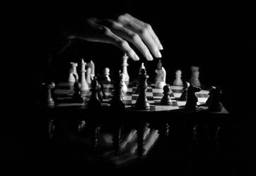 The Chess Master, 2012 by AlbertoCuccodoro