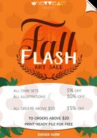 Fall Flash 2017 Design by yevvie