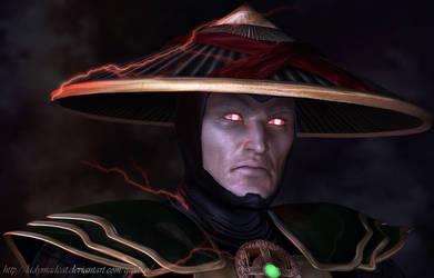 Portrait of Dark Raiden by ladymadcat