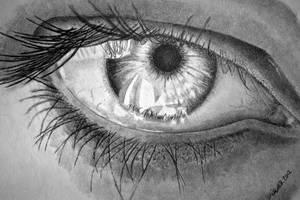 Obligatory Eye Drawing by joniwagnerart