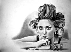 Ashley by joniwagnerart