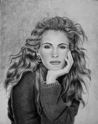 Julia Roberts by joniwagnerart