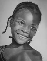 Ethiopian Girl by joniwagnerart