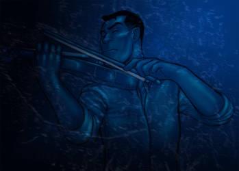 Rain Violin by Neminder
