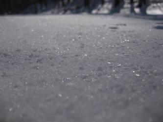 closer look at snow by midoriakaryu