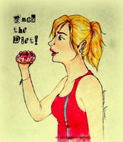 Fuck the diet! by Linaia