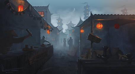 City of Unmei by tesorone