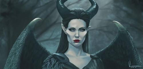 Maleficent by tesorone