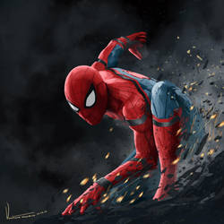 Spider-Man Homecoming by tesorone