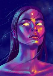Moon Goddess by tesorone