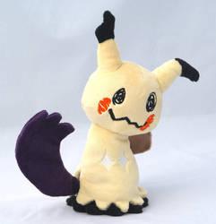 Mimikyu Plush using Shadow Claw by Draxorr