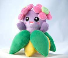 Shiny Bellossom plush 2.0 by Draxorr