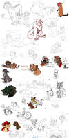 Sketchdump of 2013 Part 2 by timba