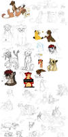 Sketchdump of 2013 Part 3 by timba