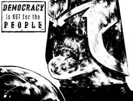 Judge Dredd by suarezart