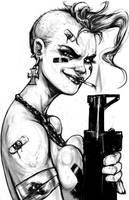 Tank Girl by suarezart