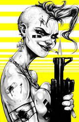 Tankgirl Ver.2.0 by suarezart
