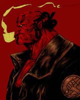 Hellboy by suarezart