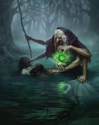 Witch by IgorDyrden