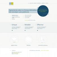 Web design for Library web platform by gatisatmixlv
